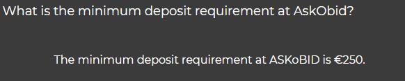minimum-deposit